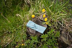 Iné doplnky - Čelenka Matilda bledomodrá - 13458257_