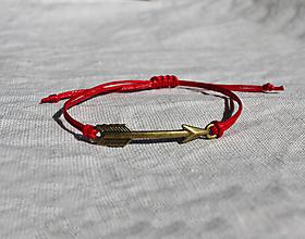 """Náramky - náramok """"šíp"""" (Červená) - 13460331_"""