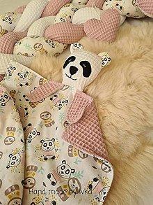 Hračky - Mojkáčik s dečkou - panda / možnosť súpravy / - 13461713_