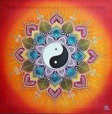 Obrazy - Mandala...Harmónia, rovnováha, šťastie a radosť života - 13462439_