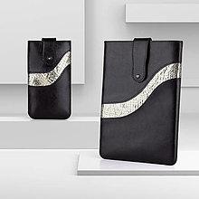 Na tablet - Kožená kolekcia POLAR, obal na tablet / notebook - 13461562_