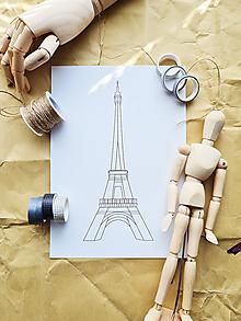 Grafika - Eiffel Tower - 13461842_