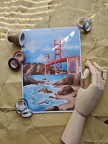 Grafika - Golden Gate Bridge - 13461930_
