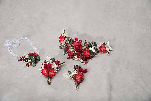 """Kvetinový setík """"mám ťa na perách"""""""