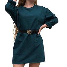 Šaty - Tenké mikinové šaty OVERSIZE - 13461171_