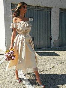 Šaty - Very romantic wedding dress - 13464580_