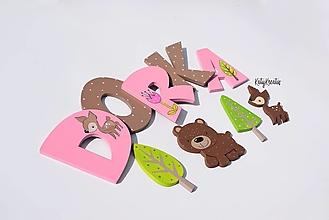 Detské doplnky - 10cm písmenká na želanie - 13463308_