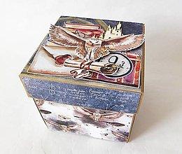 Krabičky - Exploding box - darčeková krabička k narodeninám - 13462977_