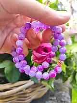 Náramky - Levanduľový  jadeit - 13464568_
