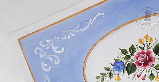 Maľovaná interiérová truhlica do detskej izby III (rôzne veľkosti)