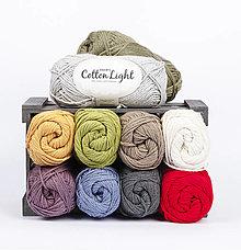 Galantéria - Priadza DROPS Cotton Light - 13464117_