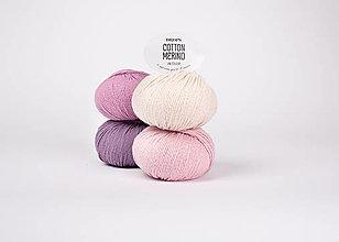 Galantéria - Priadza DROPS Cotton Merino - 13464223_
