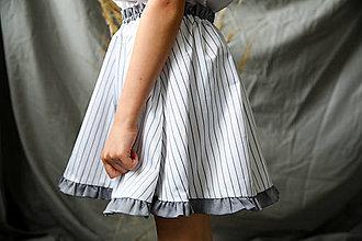 Detské oblečenie - Suknička s vreckami - 13464018_
