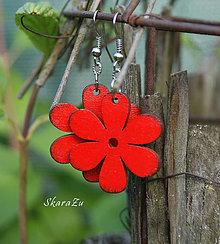 Náušnice - Bloom Red // Not dots - 13465300_
