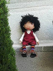Hračky - Bábika pre radosť - 13465116_