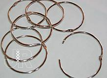 Iný materiál - Knihárske otváracie krúžky 65 - 70 mm - 13464171_