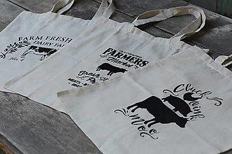 Nákupné tašky - Farmárske tašky - 13466046_