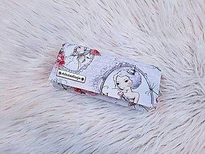 Peňaženky - Peňaženka japonské dievča - 13465909_