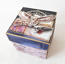Krabičky - Exploding box - darčeková krabička k narodeninám - 13465753_