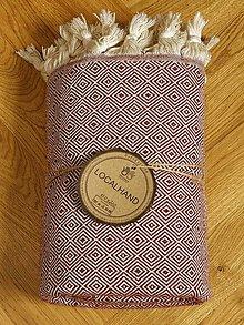 Úžitkový textil - Deky - Rhombus - 13466431_