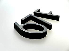 Tabuľky - Popisné číslo: Samostatná číslica Luxus I. - 13466438_