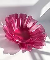 Dekorácie - Rúžová váza - 13466509_