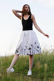 Sukne - Sukňa kvet - 13469874_