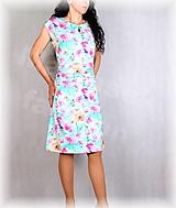 Šaty - Šaty s řasením v pase vz.673 - 13468633_