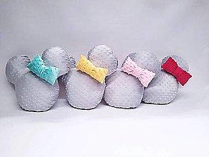 Textil - Vankúšik minky Minnie - 13468608_