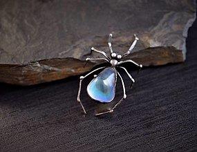 Náhrdelníky - Pavouk křišťálový.... - 13469208_
