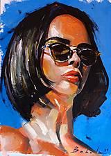 Obrazy - portrety - 13469584_