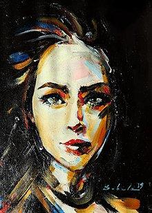 Obrazy - portrety - 13470058_