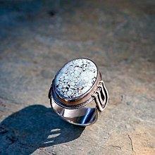 Prstene - Prsteň zo striebra - Arktída - 13470092_