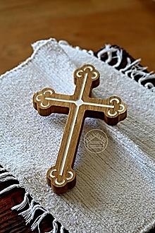 Dekorácie - Kríž dubový I. - 13470118_