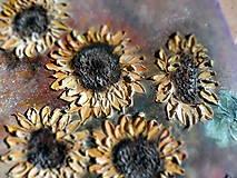 Obrazy - Poľné kvieťa, slnečnice - 13469814_