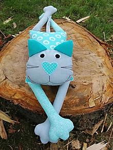 Hračky - Lenivá mačička (Forest) - 13468507_
