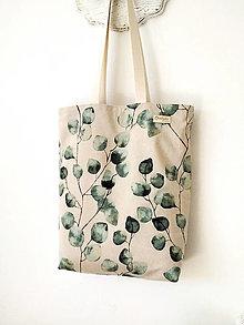 Nákupné tašky - Taška Eukalyptus - 13468938_