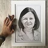 Kresby - Portrét na objednávku - 13471273_