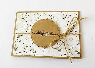 Papiernictvo - pohľadnica svadobná - 13471430_