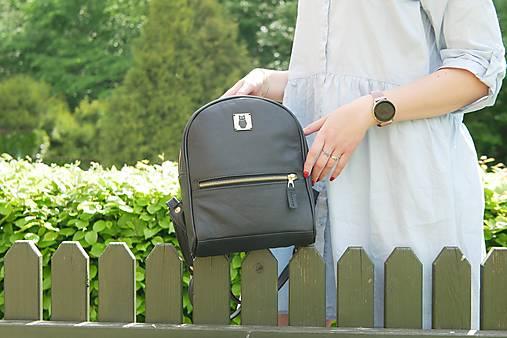 Batohy - Kožený městský batoh - Harry B.G. - 13471670_