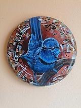 Obrazy - Maľba na železnom podklade - Chuchroš - 13472106_