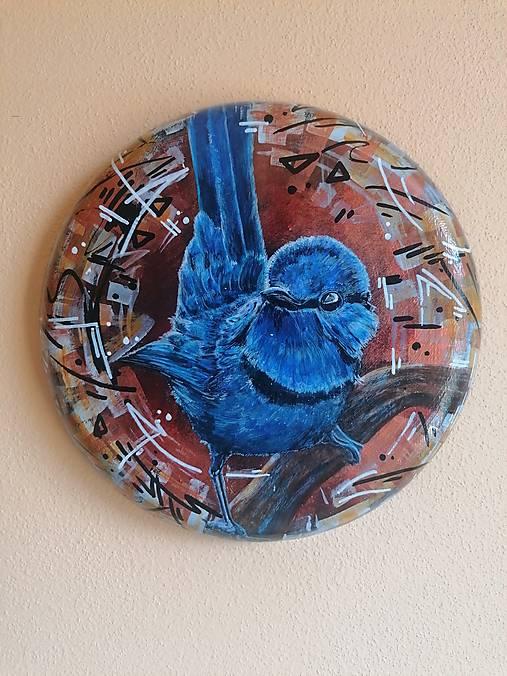Maľba na železnom podklade - Chuchroš