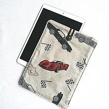 """Detské tašky - Puzdro na 10,5"""" iPad, tablet Autá - 13471535_"""
