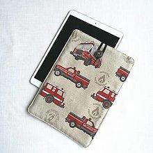 """Detské tašky - Puzdro na 10,5"""" iPad, tablet Hasič - 13472919_"""