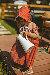 - Detské šaty s riasením na ramienka - 13473119_