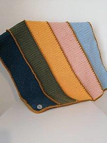 Úžitkový textil - Tarkabarka detská deka - 13473216_