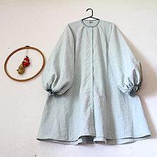 Šaty - Ľanové ženské šaty Hrdinka - 13473256_
