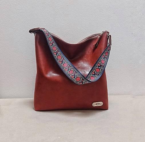 Veľké tašky - Kabelka STELLA no.10 kožená - 13472275_