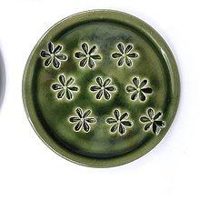 Nádoby - Malý kvetinkový tanierik - 13473451_