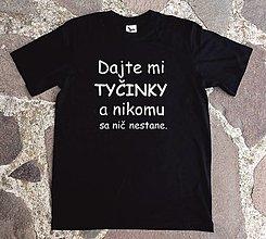 Tričká - tričko pre milovníka tyčiniek - 13475239_